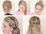 Fast and Easy Hairstyles for Wet Hair Hairstyle Tutorials for Wet Hair