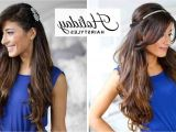 Feather Cut Hairstyle for Indian Girls Simple Hairstyles for Party Frocks
