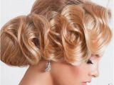 Finger Wave Wedding Hairstyles 15 Chic Wedding Hair Updos for Elegant Brides