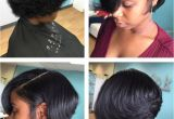 Flat Iron Hairstyles for Black Girls Silk Press and Cut Short Cuts Pinterest