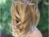 Flower Girl Hairstyles Half Up 1238 Best Flower Girl Hairstyles Images In 2019