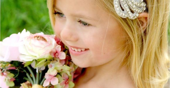Flower Girl Hairstyles with Headband Flower Girl Headband Rhinestone Headband forehead Headband Gatsby