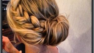 Formal Hairstyles Bun Braid 15 Braided Bun Updos Ideas Haare & Make Up Pinterest