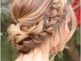 Formal Hairstyles Bun Braid 172 Best Bridal Hair Braids Images