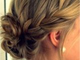 Formal Hairstyles Messy Bun with Braid Messy Bun with Braid Google Search Makeup and Hair