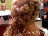 Formal Hairstyles Over One Shoulder 206 Best Side Swept Romantic Updos Images
