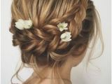 Formal Hairstyles Over One Shoulder 768 Best Bridesmaid Hair Images In 2019