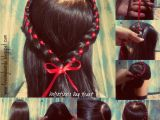 Four Braid Hairstyle Valentine S Day Special Hairstyles Heart Braid Four Strand Braid