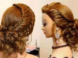 French Braid formal Hairstyles Updo for Medium Length Hair
