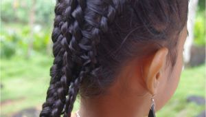 French Braid Hairstyles with Weave Braids & Hairstyles for Super Long Hair Micronesian Girl