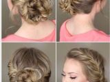French Braid with Bun Hairstyles 50 Most Beautiful Hairstyles All Women Will Love In 2018