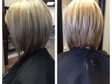 Front and Back Pictures Of Bob Haircuts Stacked Bob Hairstyles Back View