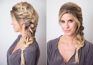 Fun Easy Hairstyles for Girls 17 Braided Hairstyles with Gifs How to Do Every Type Of Braid