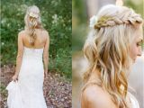 Garden Wedding Hairstyles Braided Bridal Hairstyles She Said