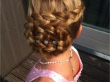 Girl Bridesmaid Hairstyles Flower Girl Inspiration Loved by