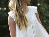 Girl Bridesmaid Hairstyles Junior Bridesmaid Hairstyle Dress by Tea Princess