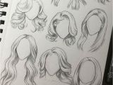 Girl Hairstyles Art Drawing Female Hair Ideas Anime Drawing In 2019