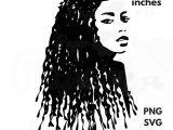 Girl Hairstyles Art Dreadlocks Svg Clip Art Locs Svg Files African American Art Black
