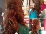 Glamorous Half Up Hairstyles Half Up Hairstyles Back View 55 Stunning Half Up Half Down