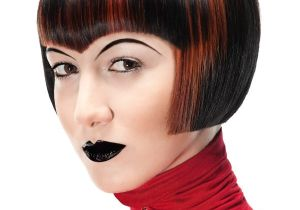 Goth Bob Haircut the Gallery for Punk asymmetrical Haircut