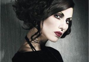 Gothic Wedding Hairstyles Gothic Wedding Hair and Make Up