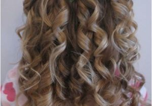 Grade 8 Grad Hairstyles Curly Cute Little Girl Curly Back View Hairstyles Prom Hairstyles