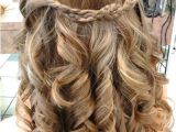 Grade 8 Grad Hairstyles Curly Prom Hairstyles Braid