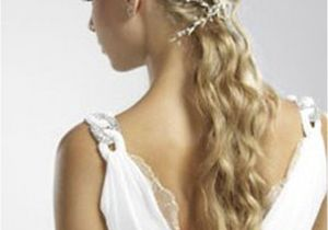Grecian Hairstyles for Wedding Ancient Greek Wedding Hairstyles