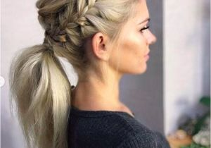 Gym Hairstyles for Extensions Adorable Ponytail Hairstyles Classic Ponytail for Long Hair Dutch