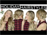 Gym Hairstyles Youtube 4 Drop Dead Gorgeous Holiday Hairstyles Hair