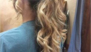 Hair Down Prom Hairstyles 2019 Dressy Ponytails Hairstyles In 2019 Pinterest