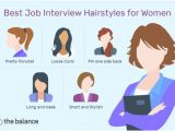 Hair Down Side Hairstyles Best Job Interview Hairstyles for Women