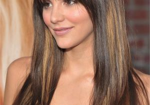 Haircut for Long Hair and Round Face 35 Flattering Hairstyles for Round Faces