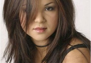 Haircut for Long Hair Round Face Indian top 25 Hairstyles for Fat Faces Of Women to Look Slim