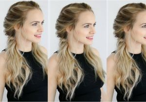 Haircut for Long Hair Youtube Easy Twisted Pigtails Hair Style Inspired by Margot Robbie