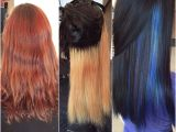 Haircut or Dye First Underlights Hair Process Start to 1st Process to Finish Purple