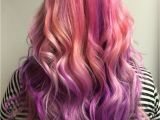 Haircuts Edmonton Pink and Purple Hair Done In Edmonton Alberta by Stylist Ella