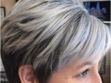 Haircuts for Grey Hair Over 60 Short Hairstyles for Women Over 60 with Grey Hair Elegant Grey Hair