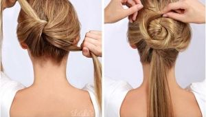 Hairstyle Easy to Do at Home Simple Hairstyles to Do at Home