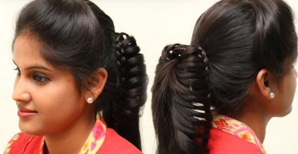 Hairstyle for College Going Girl ☆everyday Hairstyles for School College Girls ☆5 Min Everyday