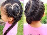 Hairstyle for Kid Girl Short Hair Heart Hair Style for Little Girls
