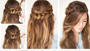 Hairstyle for Party Easy to Do Quick Easy formal Party Hairstyles for Long Hair Diy Ideas