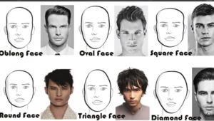 Hairstyle for Your Face Shape Men Long and Short Hairstyles for Men According to Face Shape