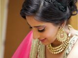 Hairstyle On Saree for Wedding Easy Hairstyles for Sarees with Face Shape Guide