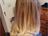 Hairstyles 2019 Dip Dye Ombre Hair Color 2018 2019 Brown to Light Blonde for Straight Hair