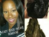 Hairstyles after Removing Braids Quick Weave Removal In Minutes Tutorial Hair