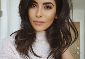 Hairstyles and Colors for Medium Length Hair Best Dark Brown Hair with Face Framing Hair