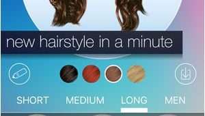 Hairstyles App iPhone Haar Umstellen New Hairstyle and Haircut In A Minute Im App Store