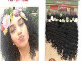 Hairstyles App Online Deep Curly Brazilian Hair Weaves 8 14inch Virgin Hair Unprocessed