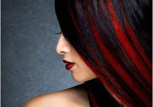 Hairstyles Black with Red Highlights 5 Black Red Hair Color You Must Consider Hair Haircuts